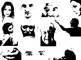 270x200 Free Face Vector Graphics
