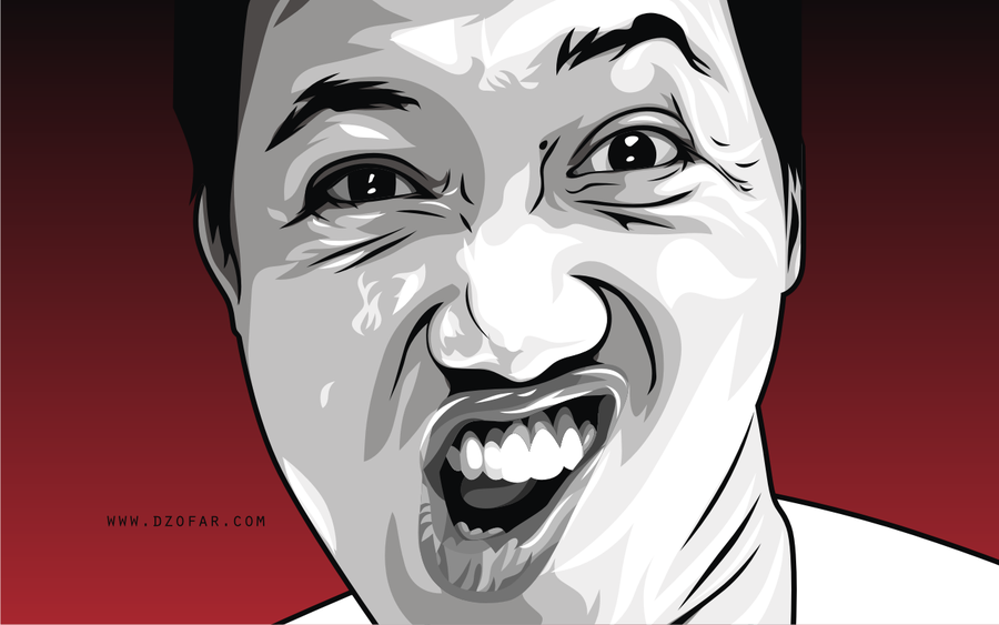 900x563 Bad Face Vector By Ndop