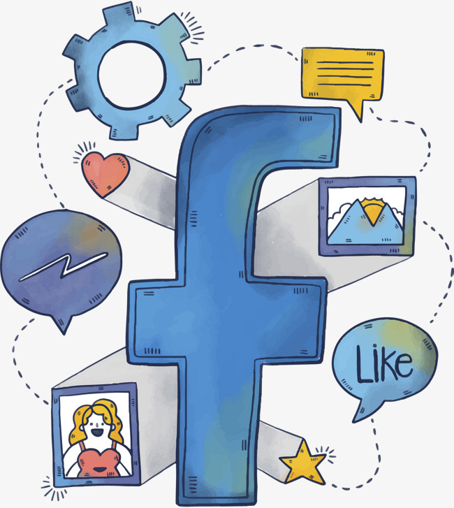 650x727 Vector Facebook, Gear, Information, Microblogging Png And Vector