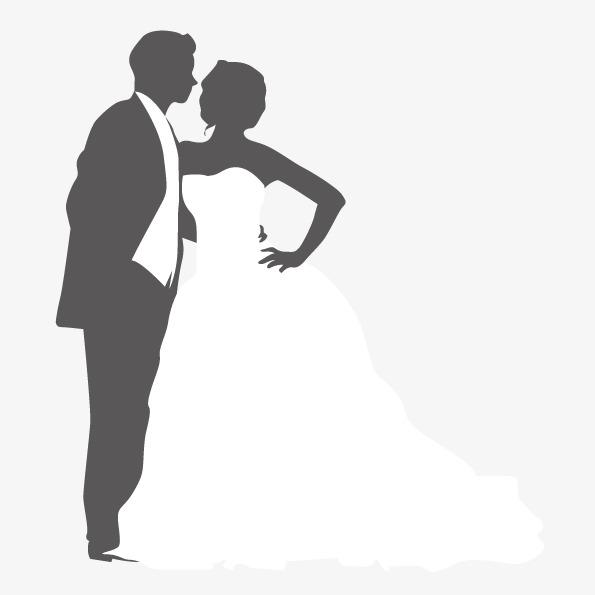 595x595 Vector Figure Hugging Marriage, Vector Character, Abstract Figures