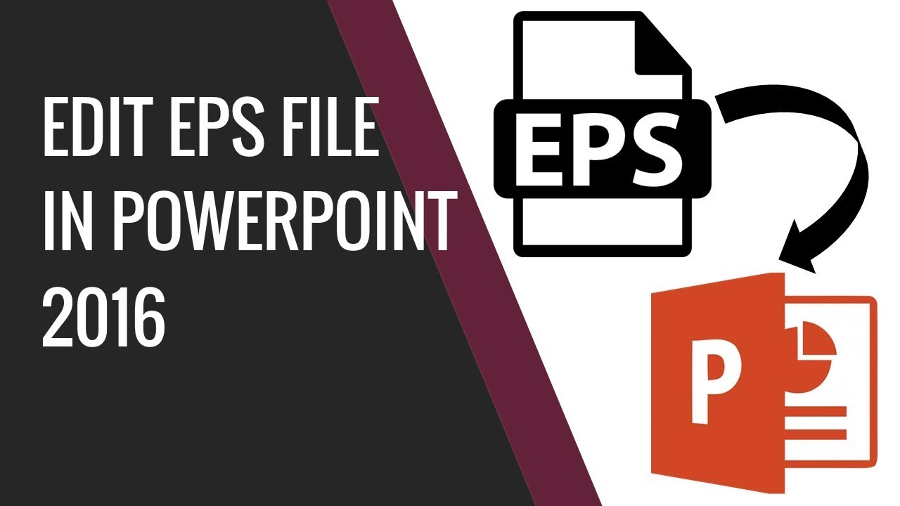 1280x720 How To Edit Eps Vector File In Powerpoint 2016