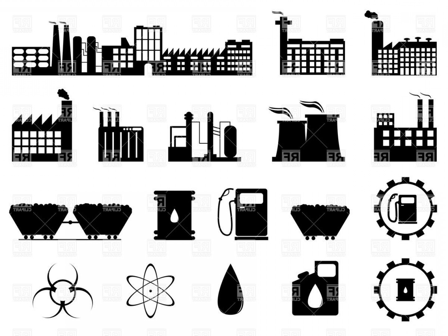 1440x1080 Air Pollution Industry Buildings Factory And Enterprise Download