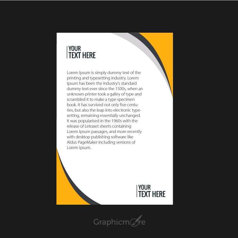 800x800 Corporate Letterhead Design Free Vector File Download