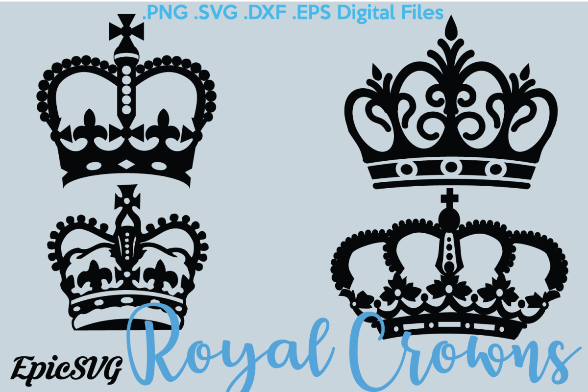 1200x800 Royal Crowns Svg Eps Dxf Crowns Clipart Digital Download