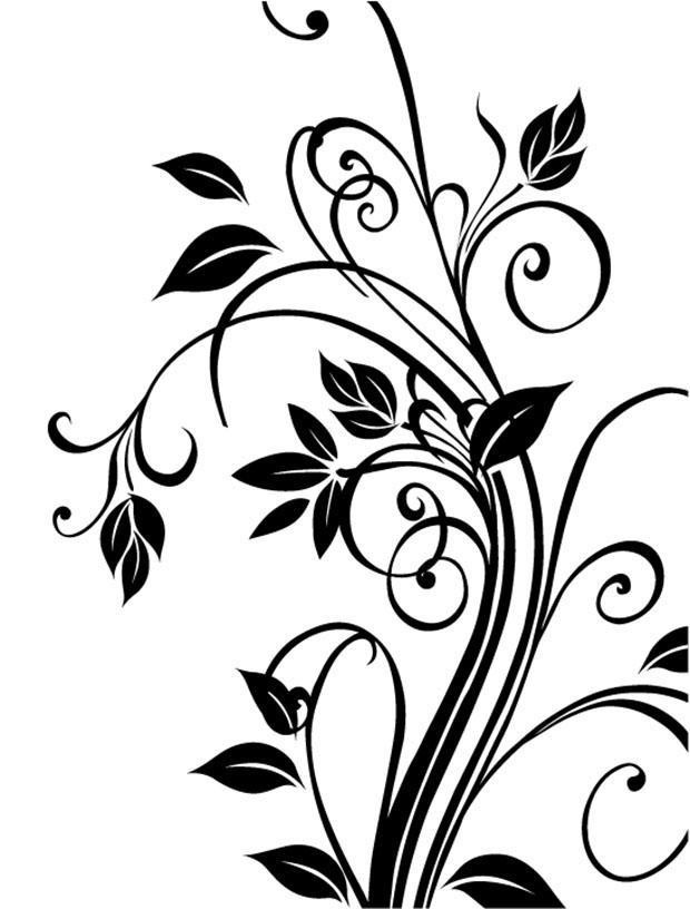 620x816 Vector Cdr Floral Free Vector