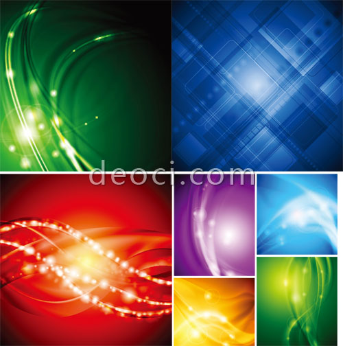 500x504 7 Vector Colorful Abstract Background Illustrator Ai Eps File Free