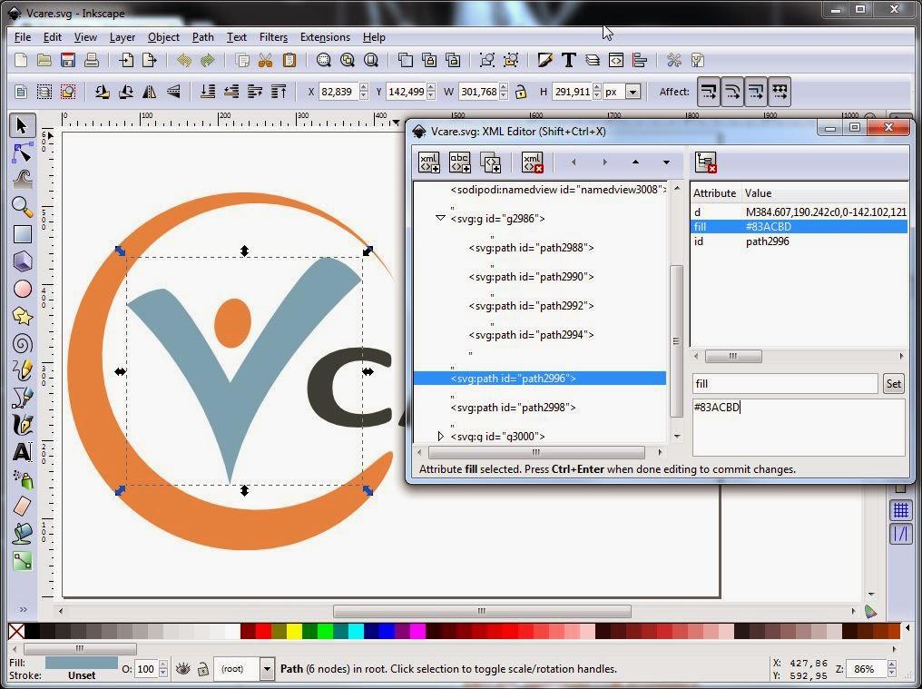 1016x759 Tutorial How To Create A Logo In Inkscape Lebende Bilder
