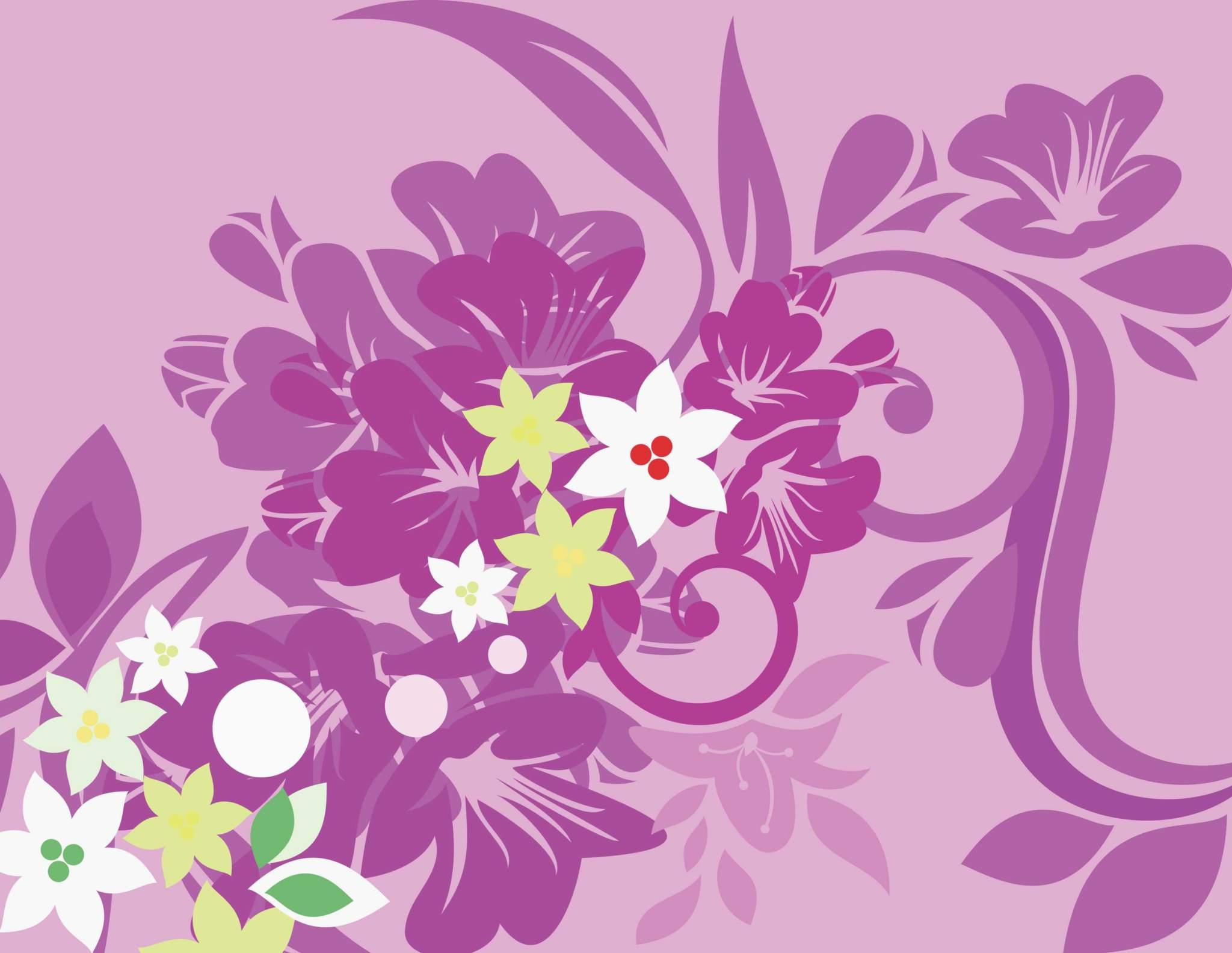 2048x1583 Floral Vector Design Background Pattern Cdr File Free Download