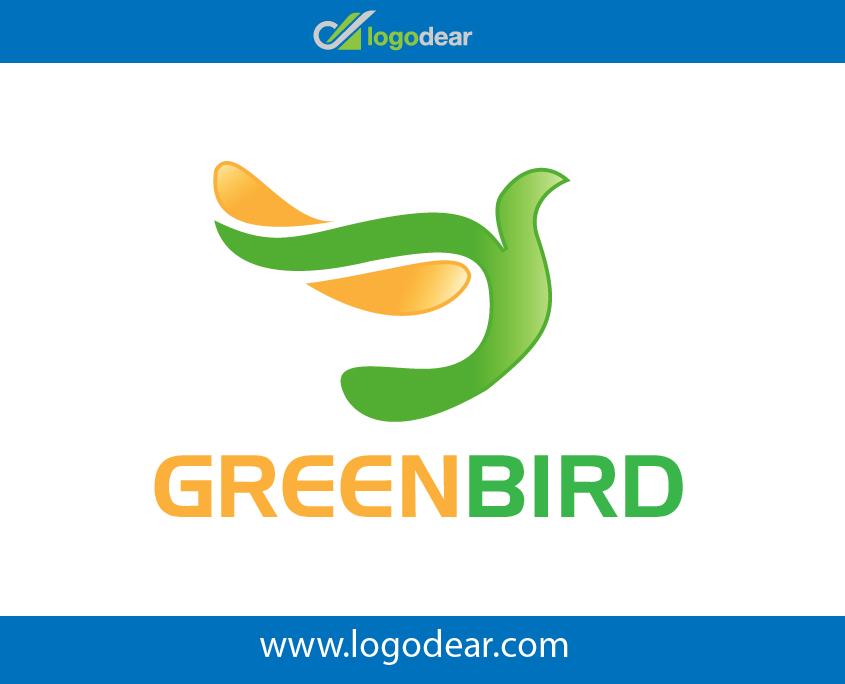 845x684 Green Bird Modern Logo Design Vector File Free Download Now