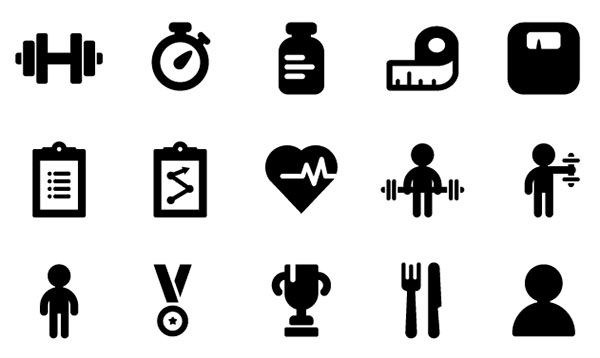 600x358 Ios Icons Vector Fitness Icons Ic