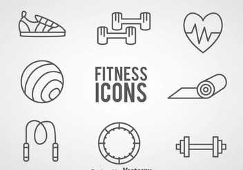 352x247 Fitness Elements Icons Free Vector Download 446387 Cannypic