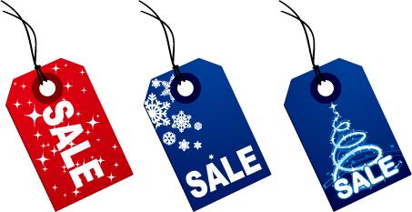 453x233 Christmas Crystal Ball And Sales Tag Vector Free Vector 4vector