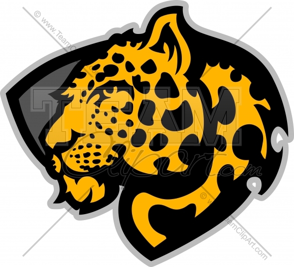590x535 Leopard Clipart Logo Clipart Image. Easy To Edit Vector Format.