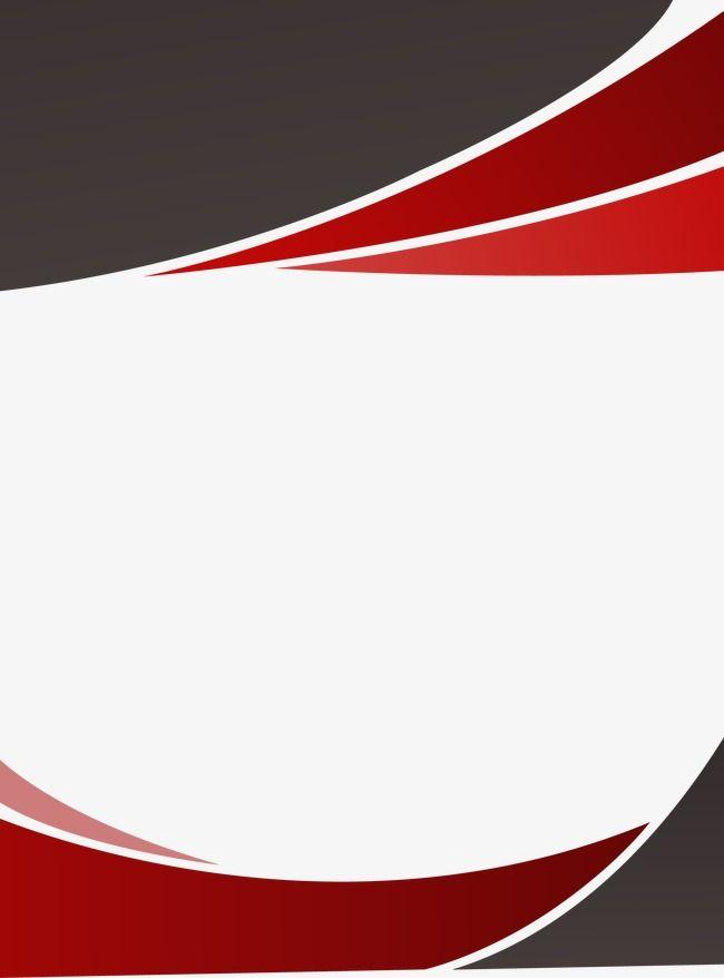 650x878 Fondo Del Borde Rojo Decoracion, Rojo, Vector, Frame Png Y Vector