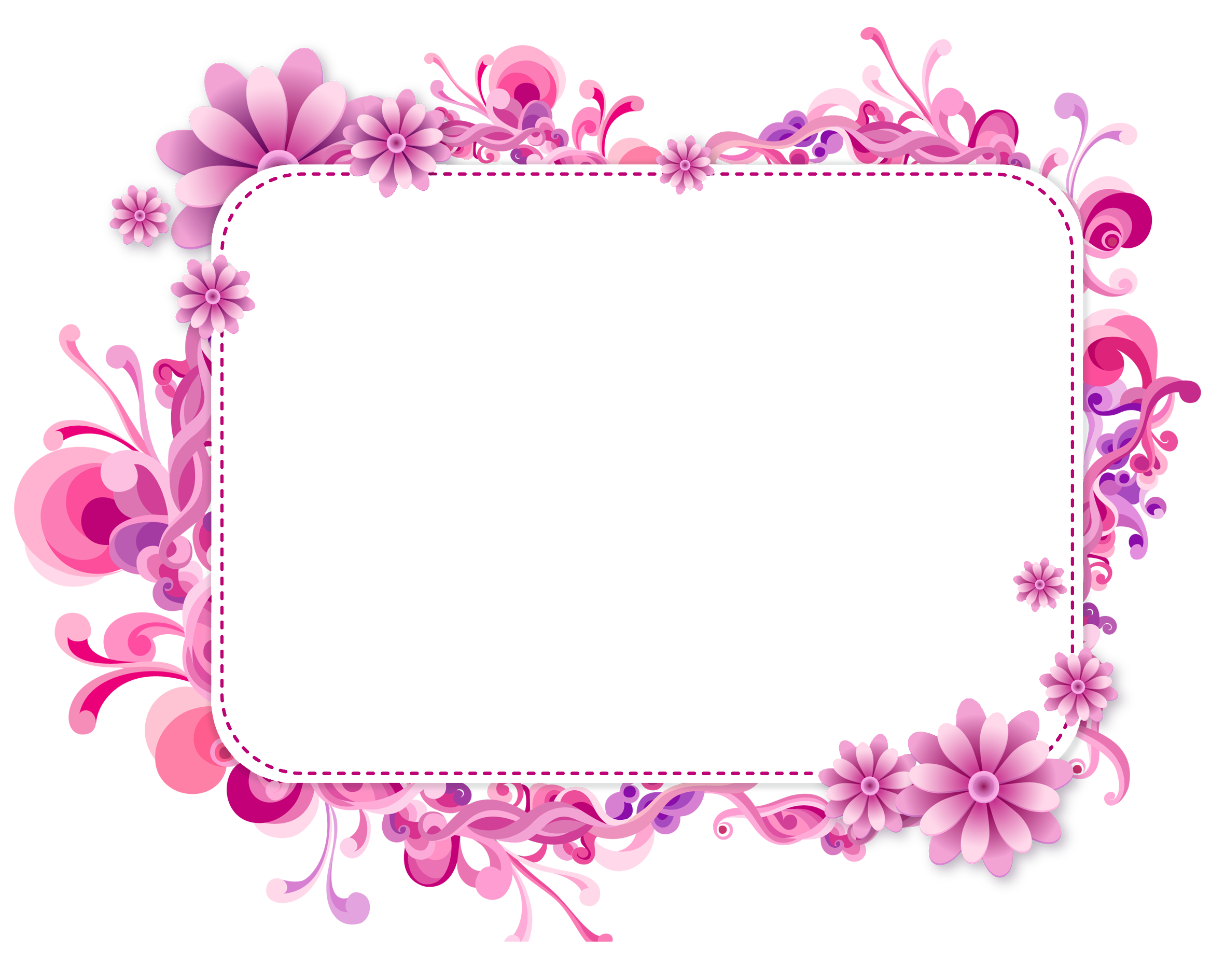 2362x1890 Pink And Purple Vector Frameu200b Gallery Yopriceville