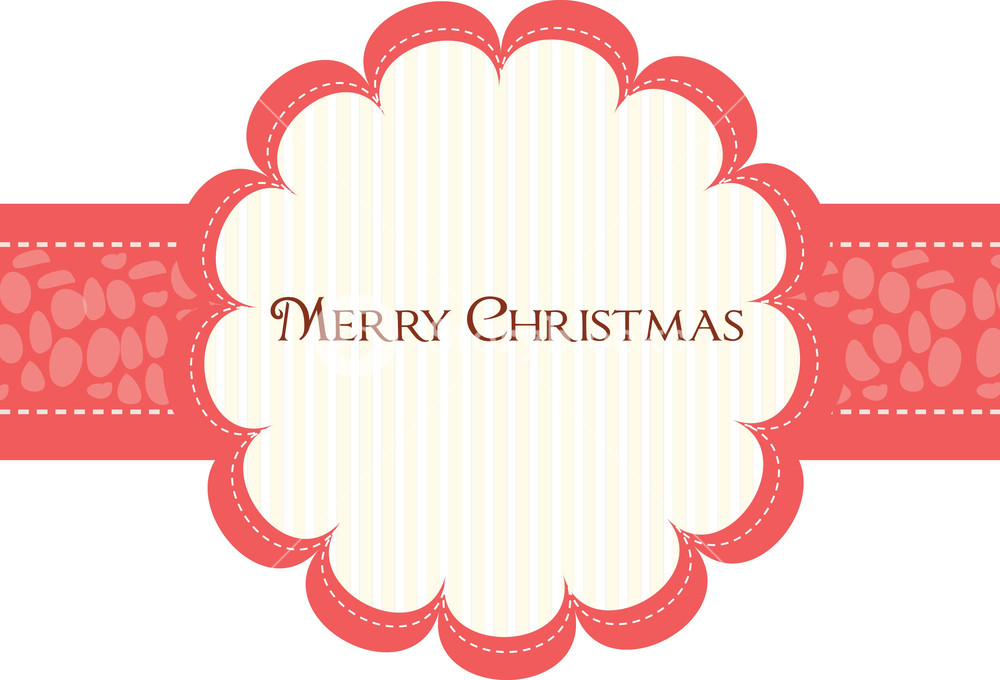 1000x680 Christmas Frame Vector Element Royalty Free Stock Image