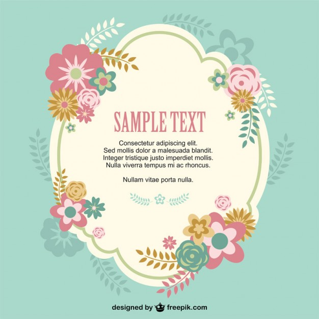 626x626 Flower Badge Free Design Vector Free Vector Download In .ai