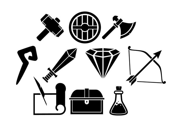 700x490 Free Game Rpg Line Icon Vector