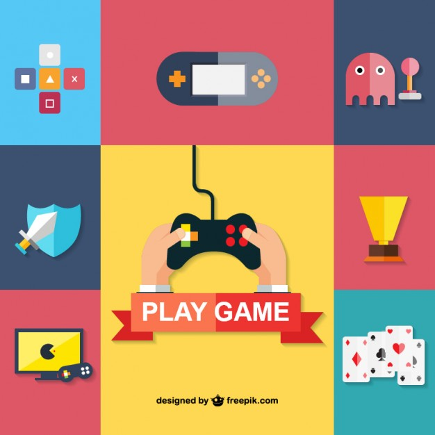 626x626 Game Icons Vector Free Download