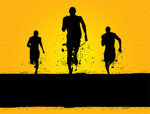 484x368 People Running Free Vector Download (6,778 Free Vector) For