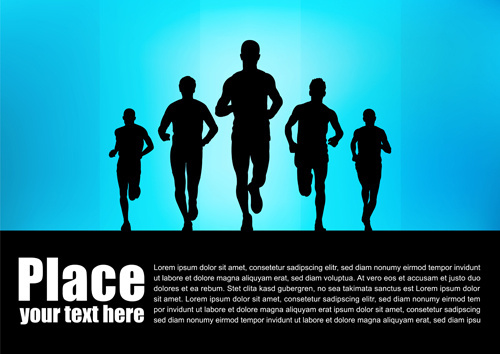 500x354 Running Free Vector Download (402 Free Vector) For Commercial Use