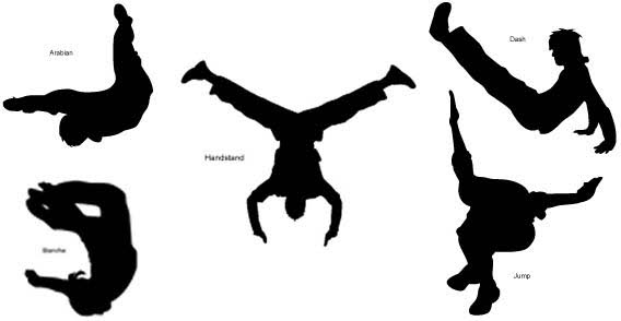 568x294 Le Parkour Vector Royalty Free Stock