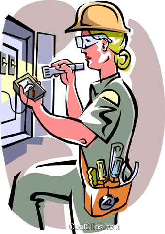 340x480 15 Electrician Vector Tool For Free Download On Mbtskoudsalg
