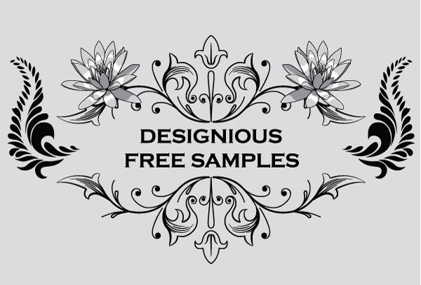 600x406 Free Vintage Graphics Flourish Vector Ornaments