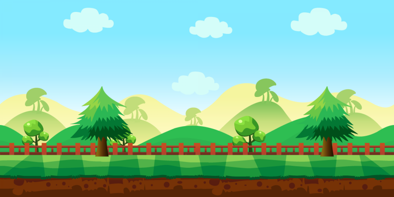 1280x640 Buy 6 Vector Game Backgrounds