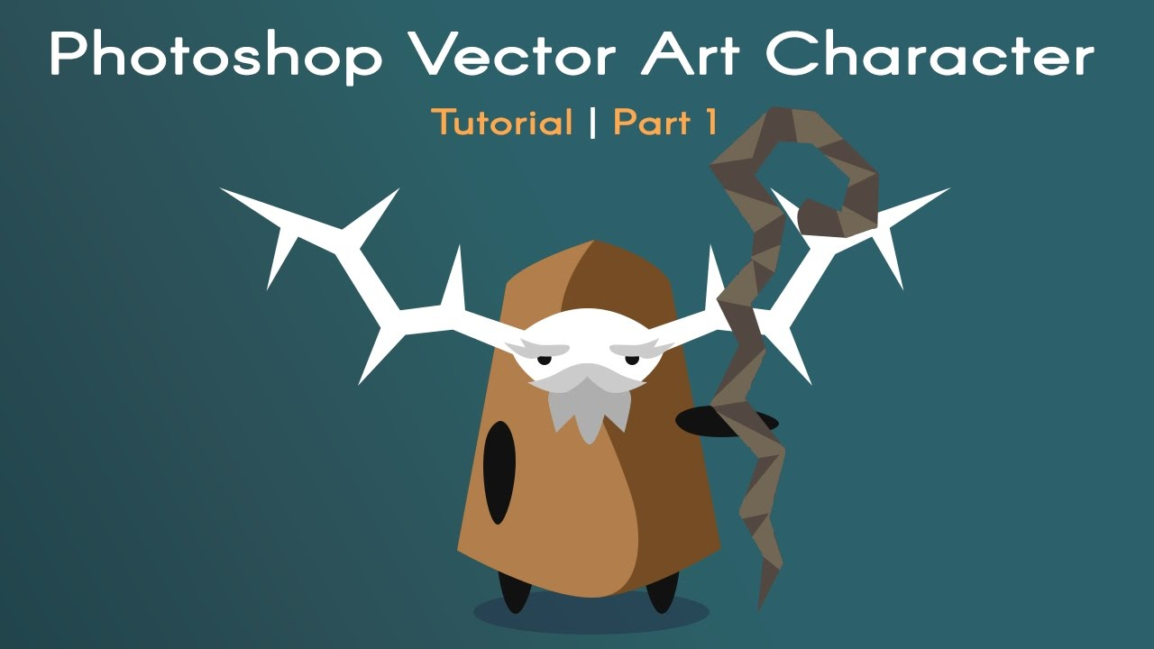 1280x720 Photoshop Vector Art Video Game Character Tutorial