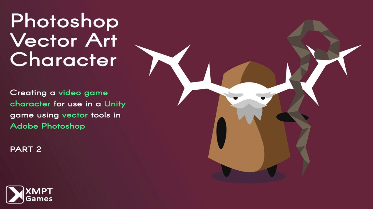 1280x720 Photoshop Vector Art Video Game Character Tutorial Part 2