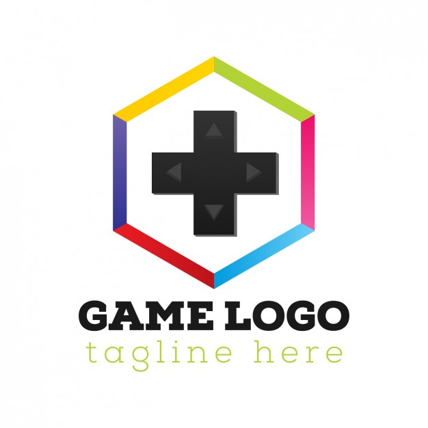626x626 Game Console Logo Template Vector Free Download
