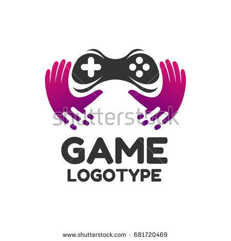 450x470 Game Logo Game Icon Logo Design Stock Vector 681720469