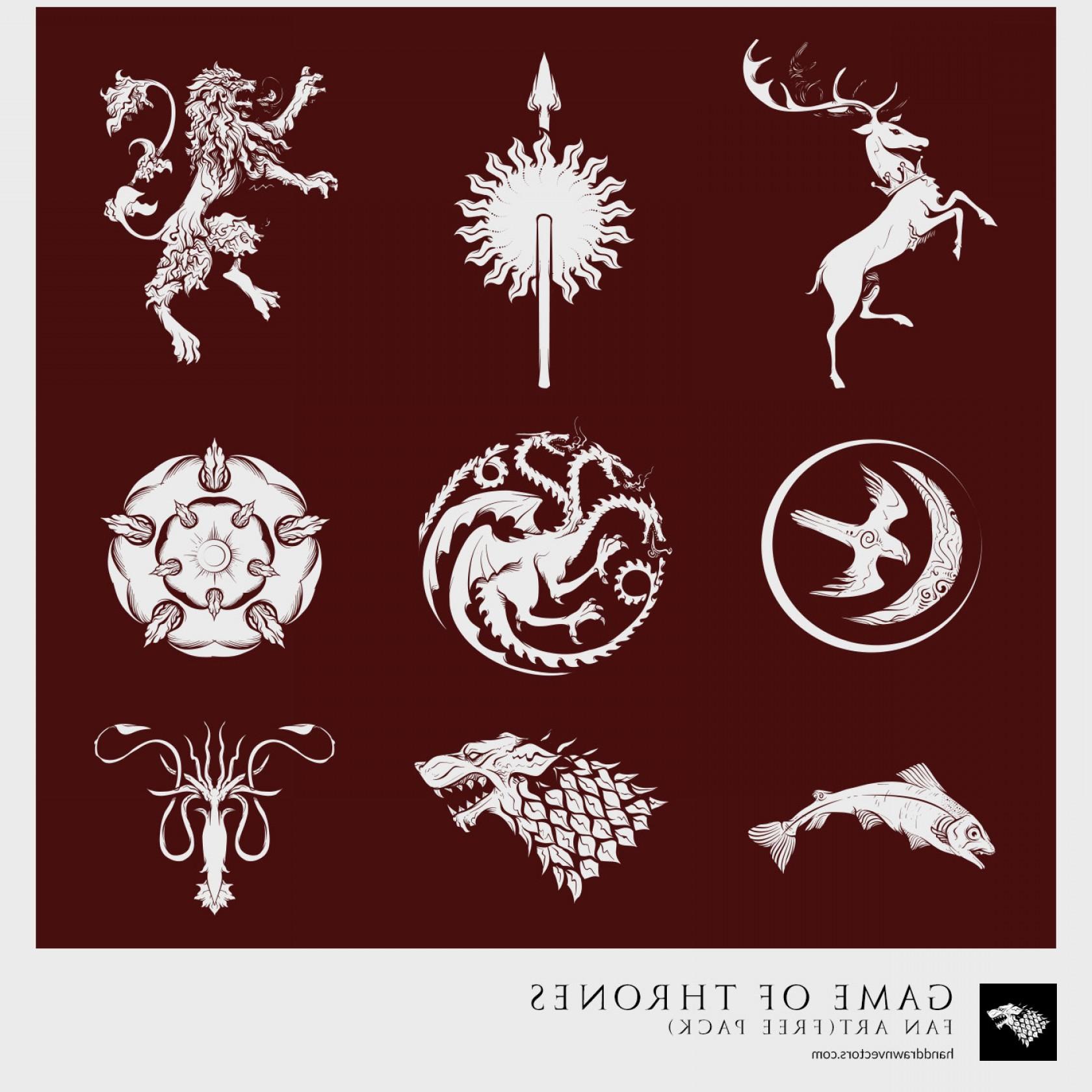 1680x1680 Game Of Thrones Logo Vector Png Shopatcloth