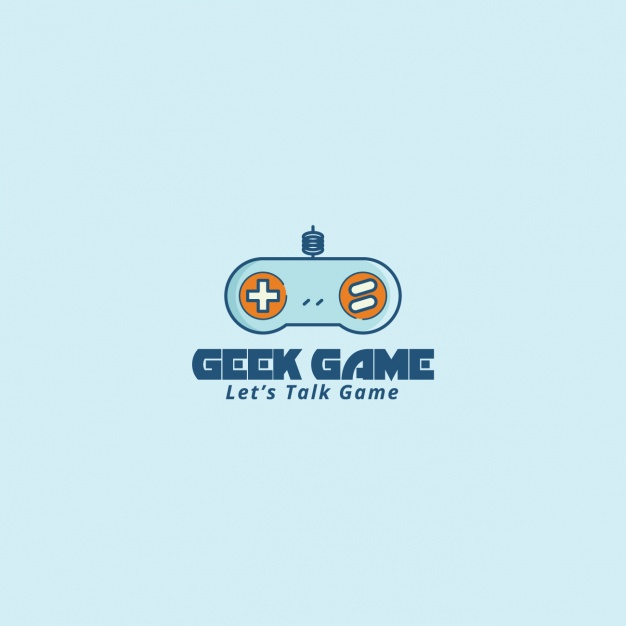 626x626 Logo With A Video Game Controller Vector Free Download