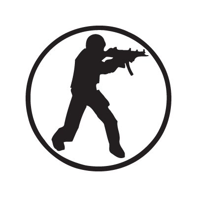 400x400 Counter Strike Logo Vector (.eps, 380.32 Kb) Download
