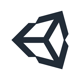 280x280 Unity Game Engine Logo Vector Free Download