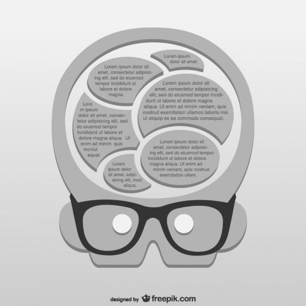 626x626 Genius Brain Vector Free Download