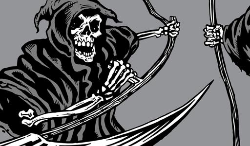512x300 Grim Reaper Vector Graphics Vector Genius Clip Art Image