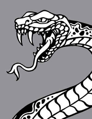 300x387 Cobra Tattoo And Snake Vectors Vector Genius Risunki