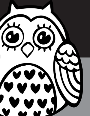 300x387 Owl From Vector Genius Buhos Owl And Craft