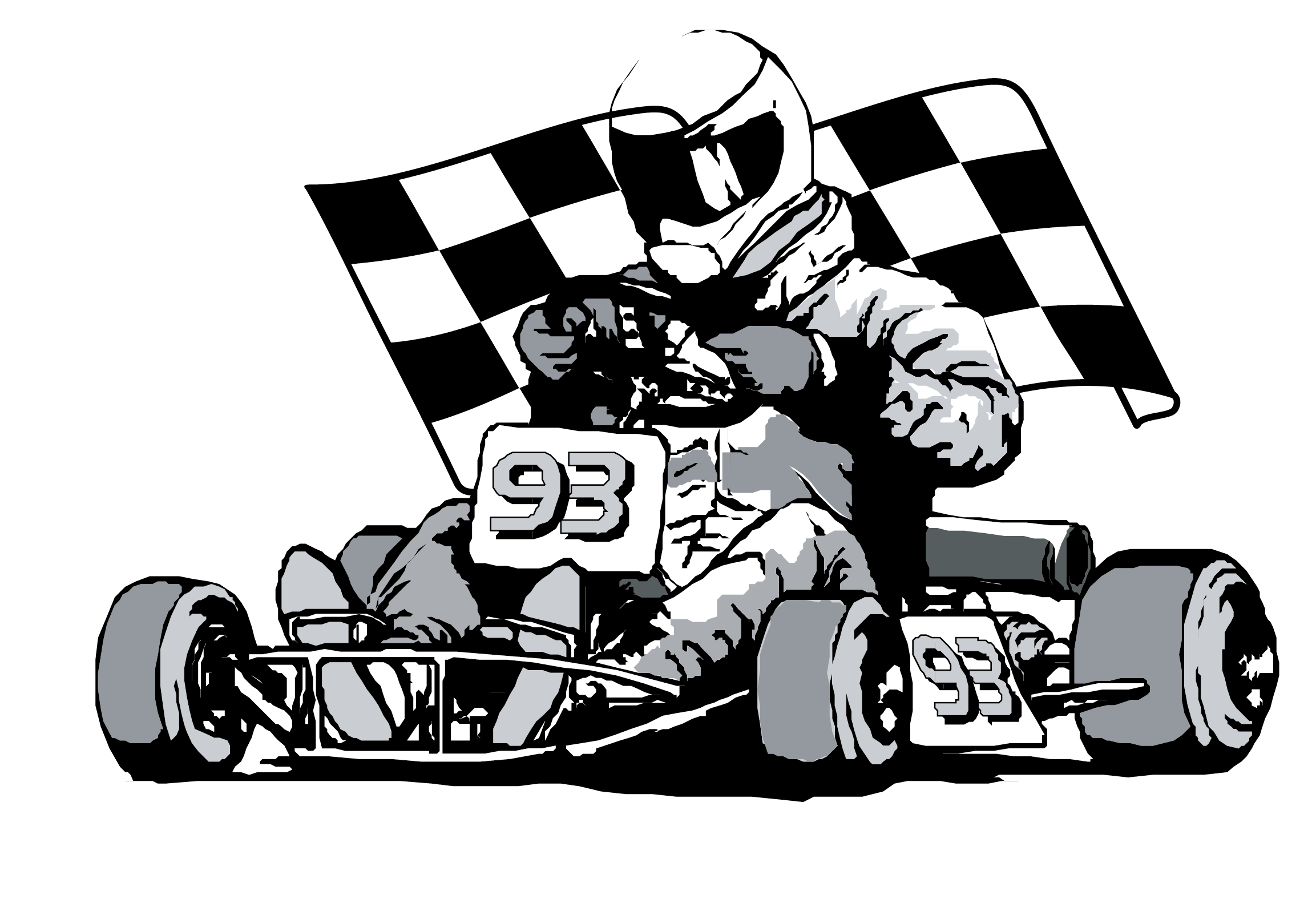 2306x1596 19 Vector Gokart Huge Freebie! Download For Powerpoint