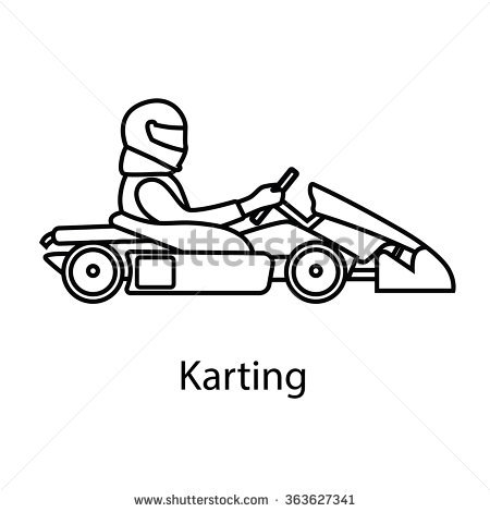 450x470 Collection Of Go Kart Drawing High Quality, Free Cliparts