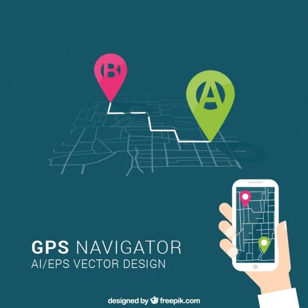626x626 Gps Navigator Vector Free Download