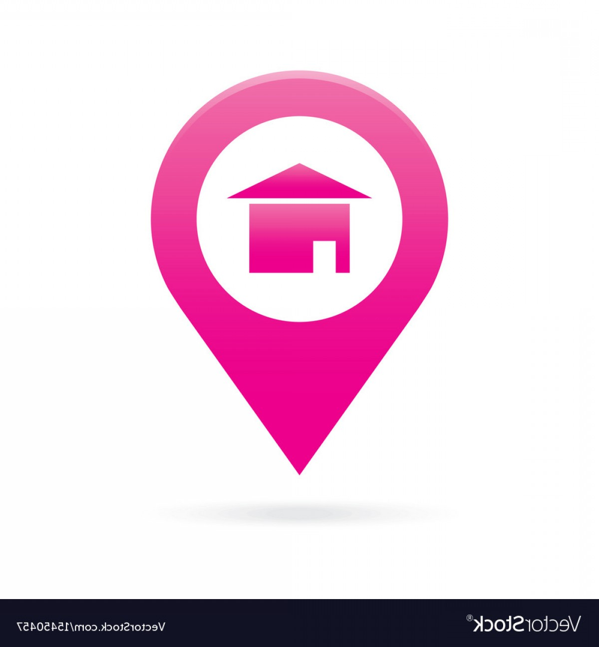 1200x1296 Home House Map Pointer Icon Marker Gps Location Vector Rongholland