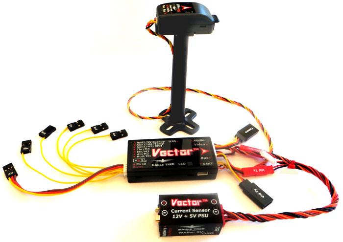 700x495 Vector Flight Controller + Osd