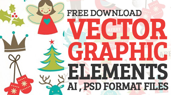 600x335 15 Free Graphic Elements Vector Images