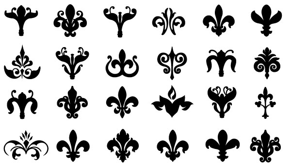 600x340 Free Graphics Vintage Vector Flowers And Floral Ornament Sets
