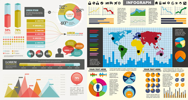 600x322 Chart Elements Of Color Vector Graphic Free Download
