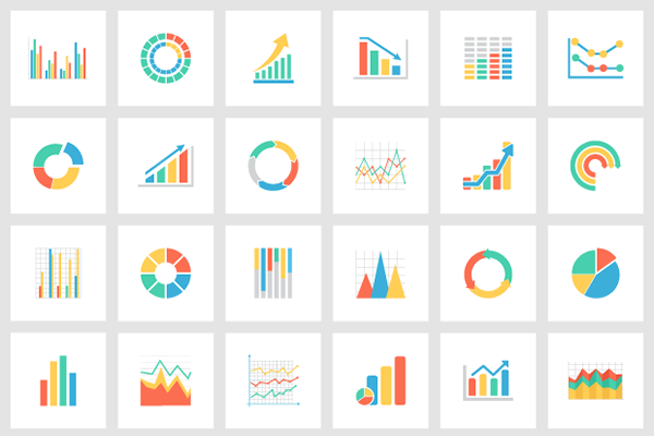 600x400 Free Collection Of 36 Vector Graphs Amp Charts